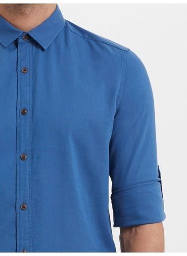 Loft Uzun Kollu Gömlek İndigo